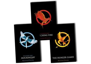 The Hunger Games Trilogy, 3 Book Set By Suzanne Collins