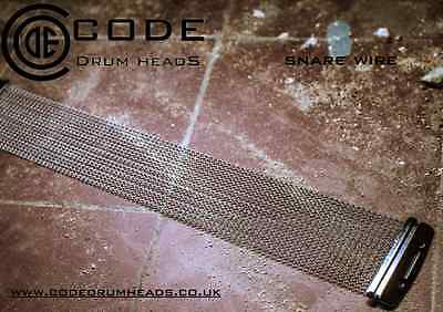 "SNARE DRUM WIRES WITH STRAPS -  FOR 14"" SNARE DRUM - 20 STRAND - CODE"