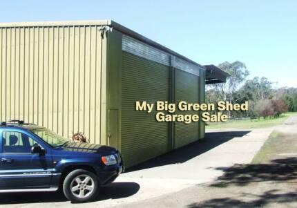 Garage Sale Trail - Big Green Shed Garage Sale