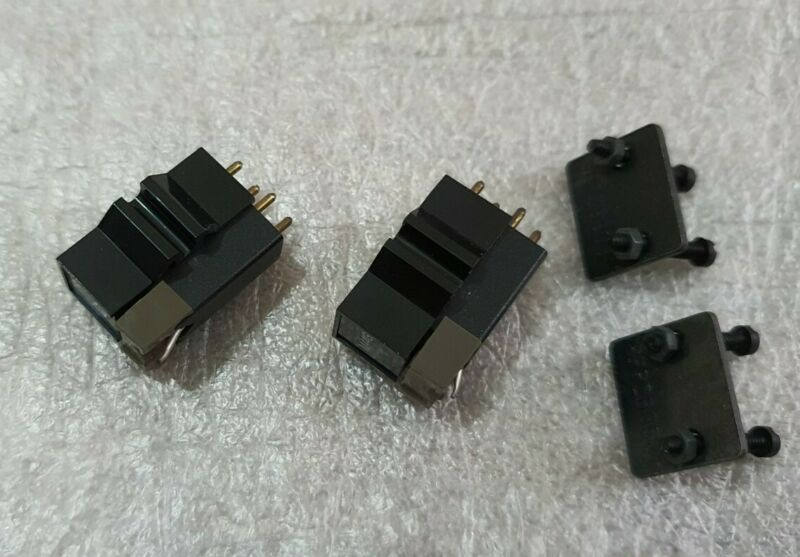 Shure M44G, 2x cartridges with stylus, screws and weight