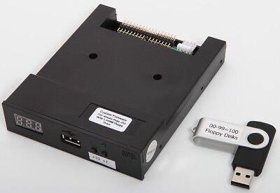 New Floppy Drive To Usb Upgrade Kit Emulator For Amada Pega-255 Cnc Turret Punch