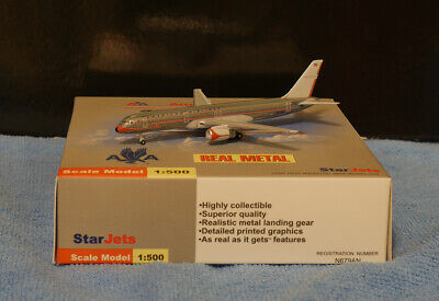 - SCHUCO STAR JETS American Airlines Boeing B757-200 Retro Colors 1/500 Airplane