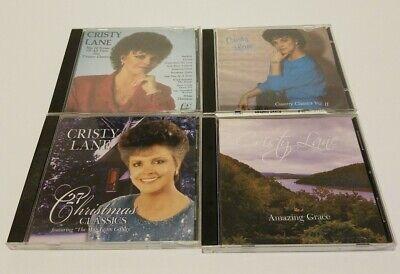 4 Cristy Lane Music CD's! Country/Christian Gospel - Christmas/Country Classics ()
