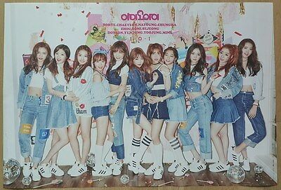 I.O.I IOI CHRYSALIS Official Poster 1st Album Unfolded w/ Tube Case 아이오아이