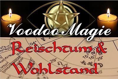 Professionelles weißmagisches Houngan Voodoo Ritual Reichtum und Wohlstand