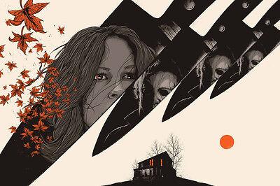 Halloween Town Poster (MATT RYAN TOBIN HALLOWEEN
