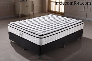 FACTORY PRICE BRAND NEW 27CM PILLOW TOP COMFORT MATTRESS (NO ROLL Hoppers Crossing Wyndham Area Preview