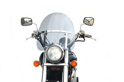 Windshield Motorcycle TINTED Universal  Chopper Cruiser  Motorbike Screen wind