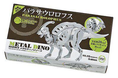 Gakken META DINO Series Parasaurolophus Metal Figure Kit Best Buy from Japan New