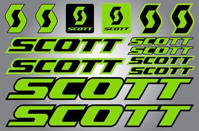 Decal Set SCOTT Plasma 2015 Frame Sticker