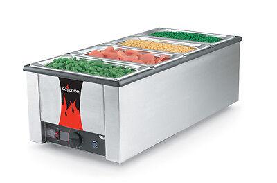 Vollrath 72050 Cayenne 43 Rectangular Rethermalizer Heat N Serve 1600w