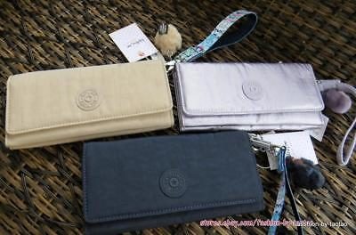 New w Tag KIPLING RUBI Snap Wallet with Removable Wristlet Strap