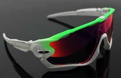 NEW OAKLEY JAW BREAKER Prizm Road Shield Sports Cycling Sunglasses OO 9290-15 for sale  Shipping to Canada