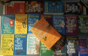 """Lot of """"The Cat Who.."""" series (24 books)"""