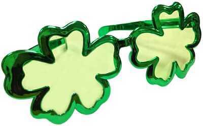 Riese Irland Kleeblatt Sonnenbrille st Patricks Day Kostüm 0037 (Grüne Riesen Kostüme)