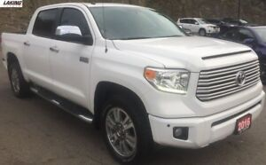 2016 Toyota Tundra Platinum 4X4 NAVIGATION HEATED & COOLED SEATS