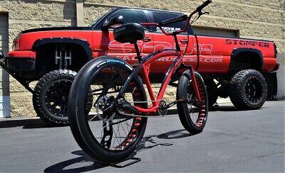 26x4 Fat Tire Beach Cruiser Bike - Soul Stomper - 3 Speed -