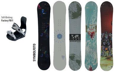 Snowboard inclusive Bindung Längen von 135 bis 160 cm zum Hammerpreis Neu