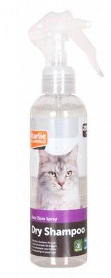 Karlie Trockenshampoo 200 ml für Katzen Spray Shampoo Fellpflege Reinigung