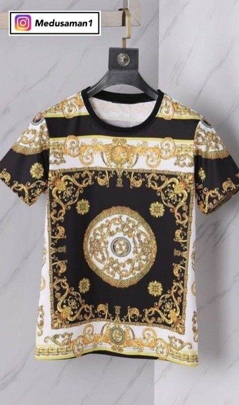 Versace Bling T-Shirt Gold Medusa Head – Designer Brand - Genuine Cotton |  in Leyton, London | Gumtree