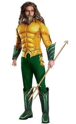 Rubies 3821197 - Aquaman Deluxe - Adult, DC, - Kostüme Trident