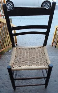 Chaise Bois Antique  Ancienne Very Old Antique Wooden Chair