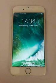 Iphone 6 16gb silver unlocked excellent condition