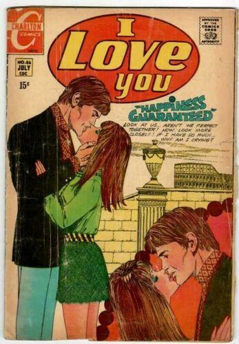 🚚 I Love You No.86 Charlton July  1970  Bronze-Age 40c  Romance Comic  in 3.5
