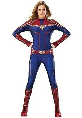 IAL 3700600 Captain Marvel Hero Suit Lizenz Damen Kostüm Karneval S M L