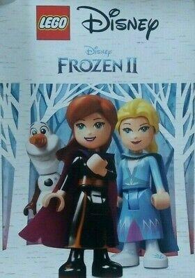 UK LEGO DISNEY FROZEN 2 2019 MOVIE PROMO POSTER ANNA ELSA OLAF NEW!