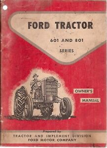 ford   series tractors operators manual