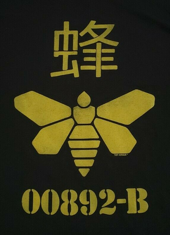 Breaking Bad Golden Moth Chemical 00892-B Logo T-Shirt By Gildan Dry Blend!