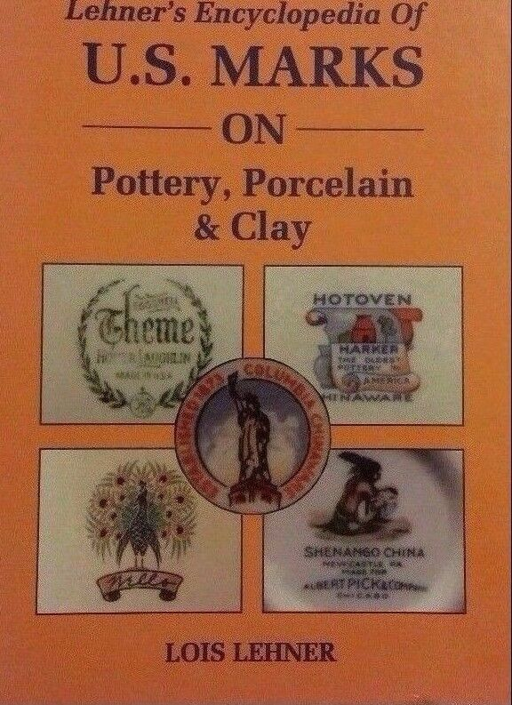 ENCYCLOPEDIA OF POTTERY MARKS REFERENCE GUIDE COLLECTOR