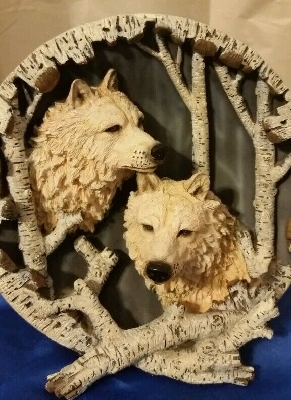 Coyote 3D Decorative Collectors Plate in great condition