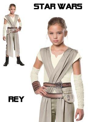 Star Wars - The Force Awakens Rey Child Costume - Disney Girls Star Wars Costume
