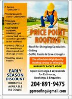 Warranty Backed Roofing Service!!!