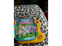 Fisher price puppy's animal friend electronic book