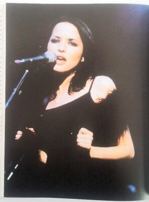 The CORRS 'feathers & mic' magazine PHOTO/Poster/clipping 11x8 inches