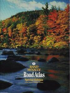 Rand McNally Road Atlas of North America West Perth Perth City Area Preview