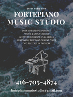 Study Music with FORTEPIANO MUSIC STUDIO