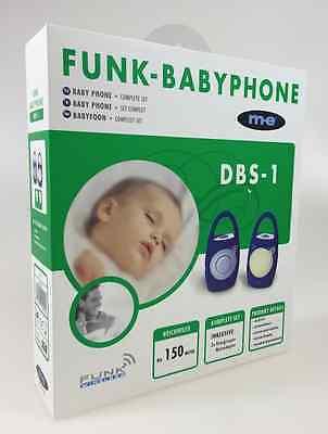 WOW ME Baby Phone Babyphone Babyfon Babyphon Kabellos Nachtlicht DBS-1
