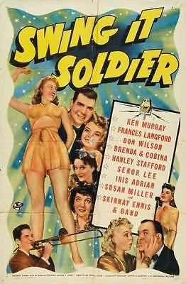SWING IT SOLDIER Movie POSTER 27x40