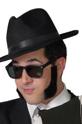1980'S Blues Maskenkostüm Satz Hut Brille Sonnenbrille Brothers Zubehör