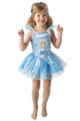 CINDERELLA Ballerina Kostüm Tanzkleidchen Tütü Ballett Prinzessin Gr. 92-98-104 ()