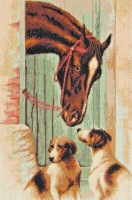Counted Cross Stitch Kit Horse Best Embroidery KITS for Adults DIY Home Decor  - Adult Craft Kits