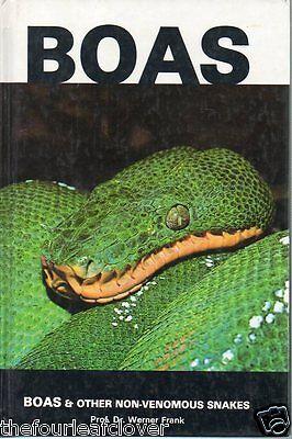 Boas & Non-Venomous Snakes 1978 TFH Werner Frank