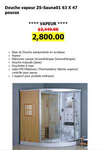 Bain, Douche, Vanité, Toilette en Liquidation!