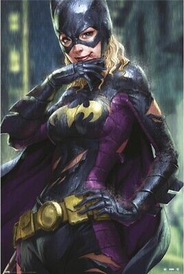 BATGIRL DC COMICS BATMAN POSTER, (BATGIRL RAIN) US Version, size 24x36 - Batman Poster
