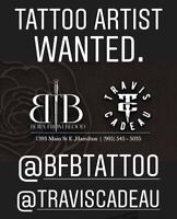 Tattoo Artists Wanted!