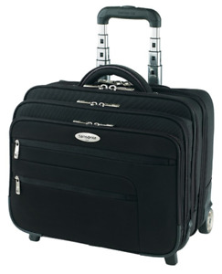 NEW - Samsonite Mobile Office  Rolling Briefcase + Overnighter